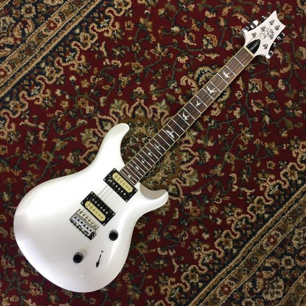 PRS SE Standard 24 Limited Edition Pearl White